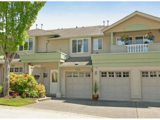 """Photo 1: 229 13888 70TH Avenue in Surrey: East Newton Townhouse for sale in """"CHELSEA GARDENS"""" : MLS®# F1312877"""