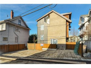"""Photo 20: 1810 E PENDER Street in Vancouver: Hastings Townhouse for sale in """"AZALEA HOMES"""" (Vancouver East)  : MLS®# V1051694"""