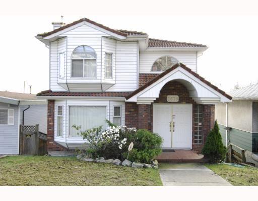 Main Photo: 3678 E Pender Street in Vancouver East: Renfrew VE House for sale : MLS®# V811892