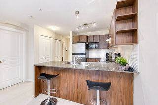 """Photo 3: 206 4728 BRENTWOOD Drive in Burnaby: Brentwood Park Condo for sale in """"The Varley at Brentwood Gates"""" (Burnaby North)  : MLS®# R2515168"""