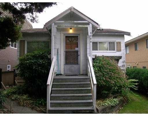 Main Photo: 4086 NAPIER Street in Burnaby: Willingdon Heights House for sale (Burnaby North)  : MLS®# V615266