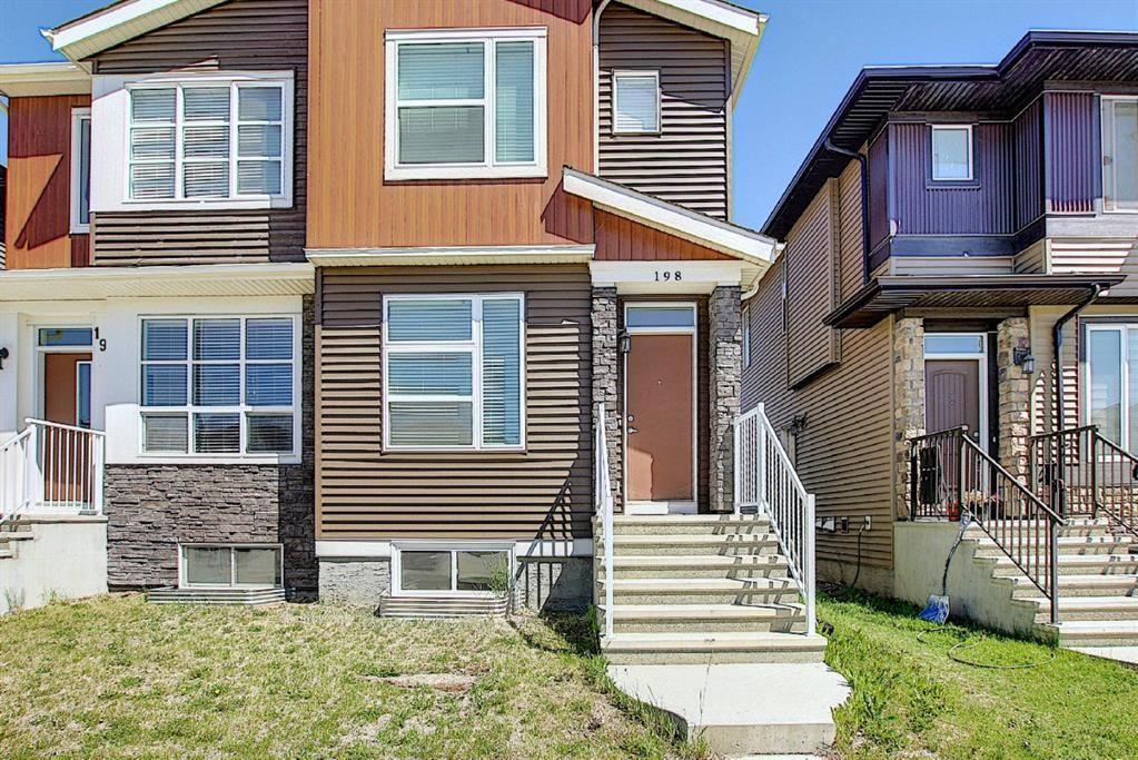 Main Photo: 198 Cornerstone Avenue NE in Calgary: Cornerstone Semi Detached for sale : MLS®# A1120087