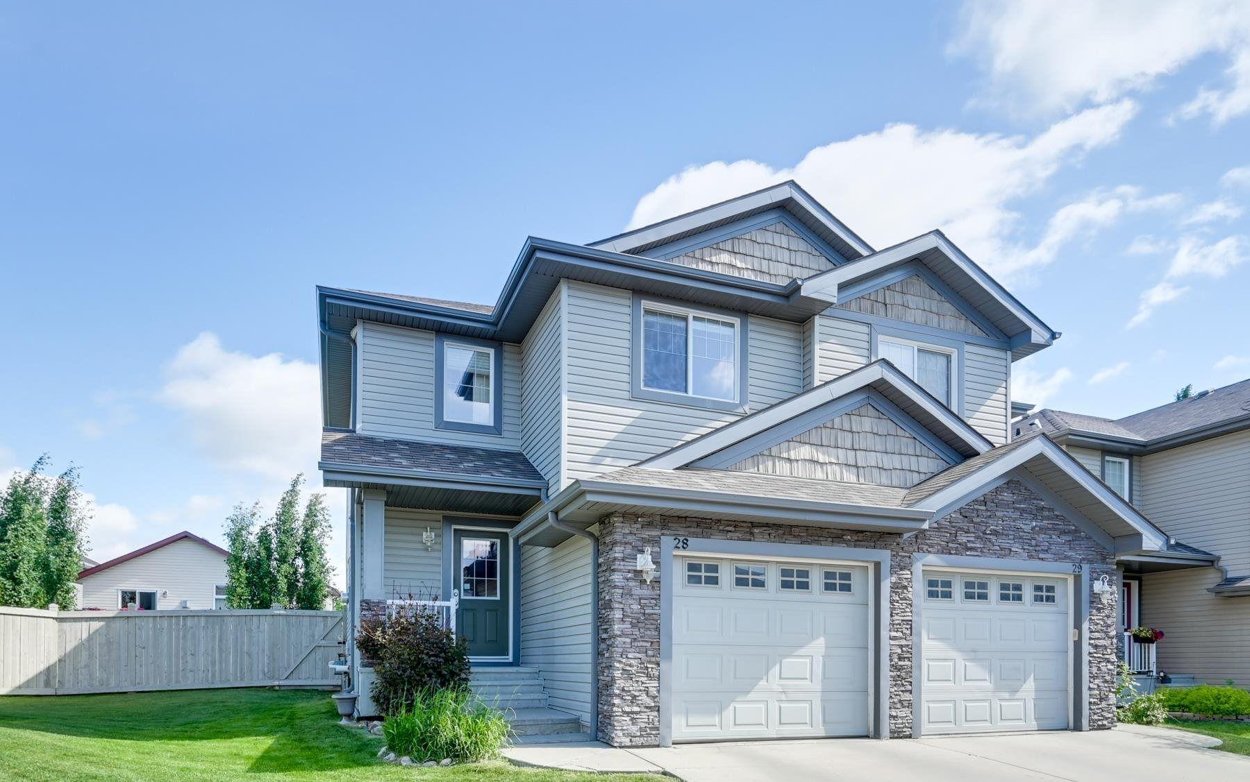 Main Photo: 28 1730 Leger Gate NW in Edmonton: Zone 14 House Half Duplex for sale : MLS®# E4250652