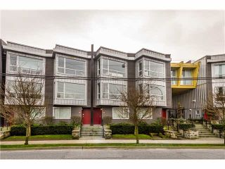 Photo 1: 652 W 6TH Avenue in Vancouver: Fairview VW Townhouse for sale (Vancouver West)  : MLS®# V1106252