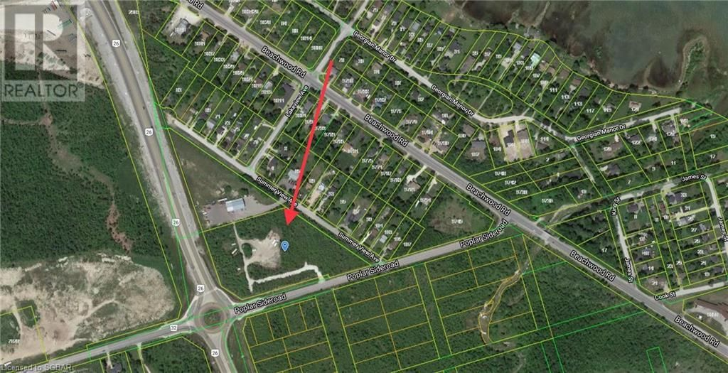 Main Photo: LT 40 POPLAR Sideroad in Collingwood: Vacant Land for sale : MLS®# 40078714