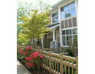 "Photo 1: 936 WESTBURY WK in Vancouver: South Cambie Townhouse for sale in ""CHURCHILL GARDENS"" (Vancouver West)  : MLS®# V587835"