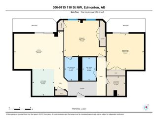 Photo 15: 306 9715 110 Street in Edmonton: Zone 12 Condo for sale : MLS®# E4255526