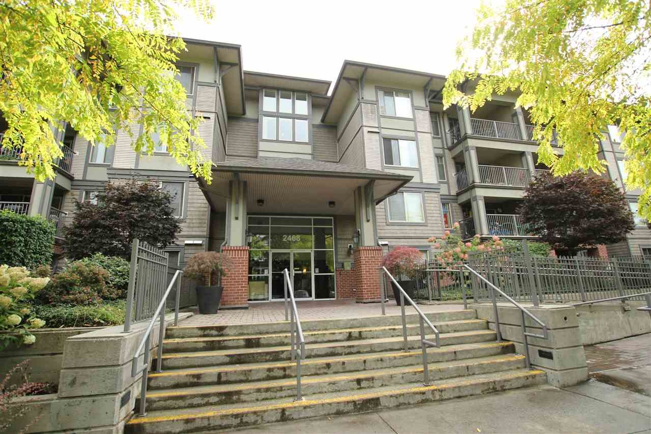 """Main Photo: 401 2468 ATKINS Avenue in Port Coquitlam: Central Pt Coquitlam Condo for sale in """"THE BORDEAUX"""" : MLS®# R2019309"""