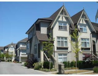 "Photo 1: 28 7288 HEATHER Street in Richmond: McLennan North Townhouse for sale in ""BARRINGTON WALK"" : MLS®# V779210"