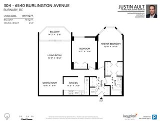 "Photo 18: 304 6540 BURLINGTON Avenue in Burnaby: Metrotown Condo for sale in ""BURLINGTON SQUARE"" (Burnaby South)  : MLS®# R2575968"