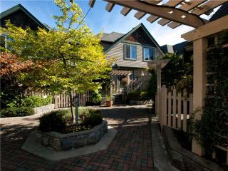 "Photo 1: 16 222 E 5TH Street in North Vancouver: Lower Lonsdale Townhouse for sale in ""Burham Court"" : MLS®# V971412"