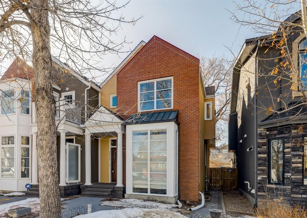 Main Photo: 2217 2 Avenue NW in Calgary: West Hillhurst Semi Detached for sale : MLS®# A1082810