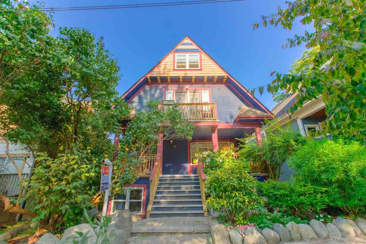 Main Photo: 1 2540 MANITOBA Street in Vancouver: Mount Pleasant VW 1/2 Duplex for sale (Vancouver West)  : MLS®# R2397252