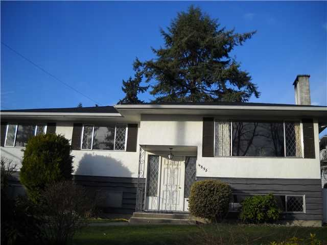 Main Photo: 4895 MCKEE Place in Burnaby: South Slope House for sale (Burnaby South)  : MLS®# V867089