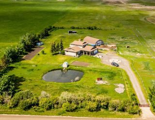 Photo 1: 272180 Twp Rd 240 in Rural Rocky View County: Rural Rocky View MD Detached for sale : MLS®# A1077331