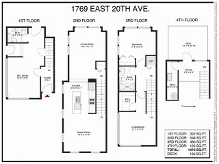 """Photo 20: 1769 E 20TH Avenue in Vancouver: Victoria VE Townhouse for sale in """"Cedar Cottage Townhouses"""" (Vancouver East)  : MLS®# V1094982"""