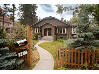 Photo 2: 1417 PROSPECT Avenue SW in Calgary: Upper Mount Royal House for sale : MLS®# C4070351