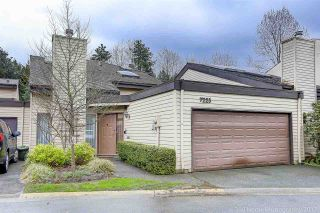 """Photo 1: 7225 QUATSINO Drive in Vancouver: Champlain Heights Townhouse for sale in """"SOLAR WEST"""" (Vancouver East)  : MLS®# R2155703"""