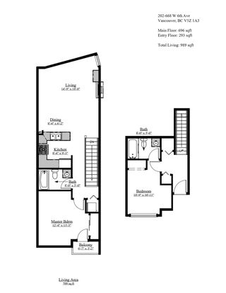 """Photo 31: 202 668 W 6TH Avenue in Vancouver: Fairview VW Townhouse for sale in """"The Bohemia"""" (Vancouver West)  : MLS®# R2596891"""