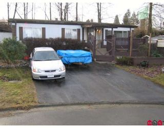 Photo 1: 33880 GILMOUR Drive in Abbotsford: Central Abbotsford Manufactured Home for sale : MLS®# F2901672