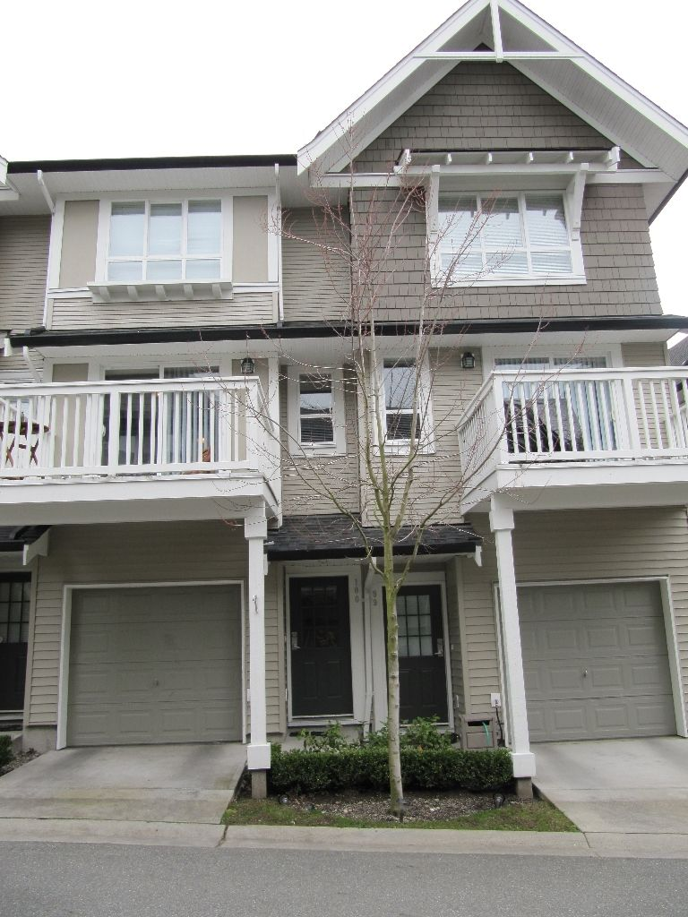 """Main Photo: 100 6747 203RD Street in Langley: Townhouse for sale in """"Willoughby Heights"""" : MLS®# F1107665"""