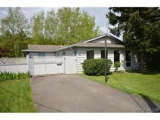 Photo 1: 9606 Epco Dr in SIDNEY: Si Sidney South-West House for sale (Sidney)  : MLS®# 611981