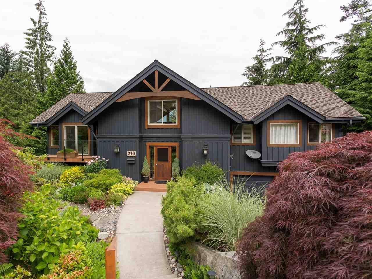 "Main Photo: 210 FURRY CREEK Drive: Furry Creek House for sale in ""FURRY CREEK"" (West Vancouver)  : MLS®# R2286105"
