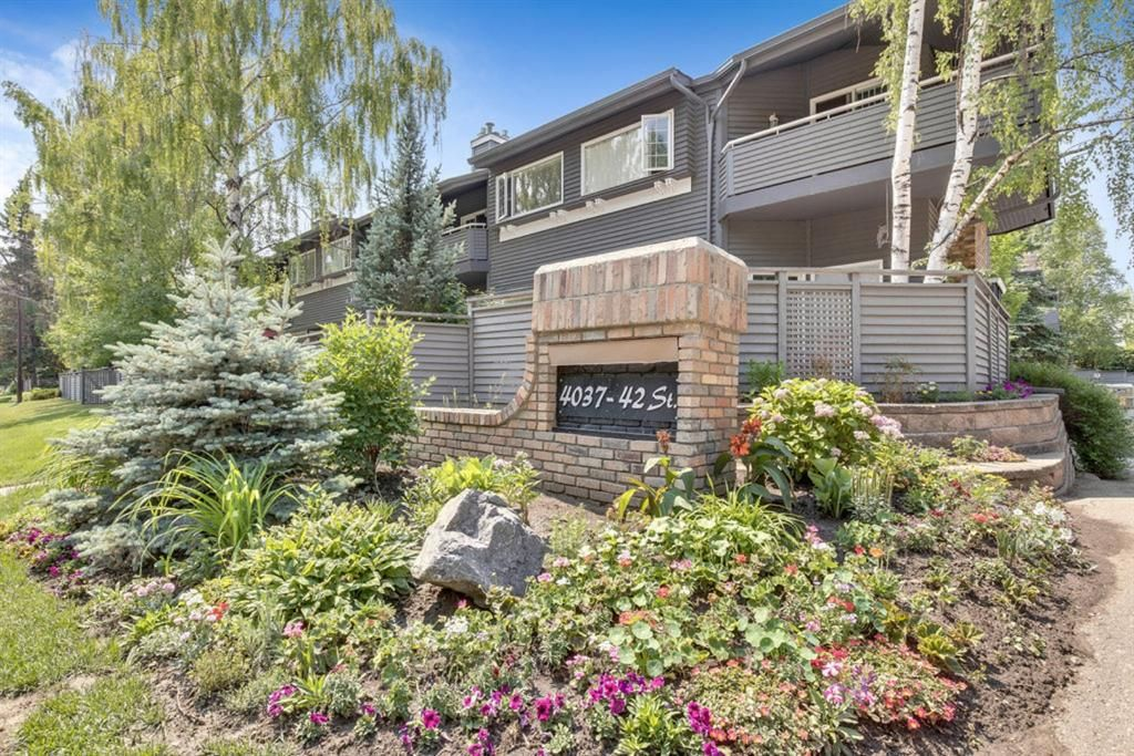 Main Photo: 283 4037 42 Street NW in Calgary: Varsity Row/Townhouse for sale : MLS®# A1126514