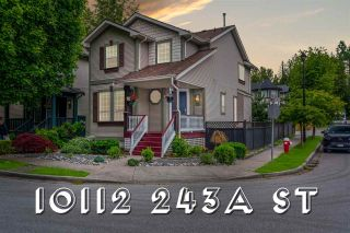 """Photo 1: 10112 243A Street in Maple Ridge: Albion House for sale in """"COUNTRY LANE"""" : MLS®# R2595109"""