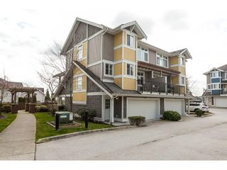 """Photo 1: 15 6036 164 Street in Surrey: Cloverdale BC Townhouse for sale in """"Arbour Village"""" (Cloverdale)  : MLS®# R2445991"""