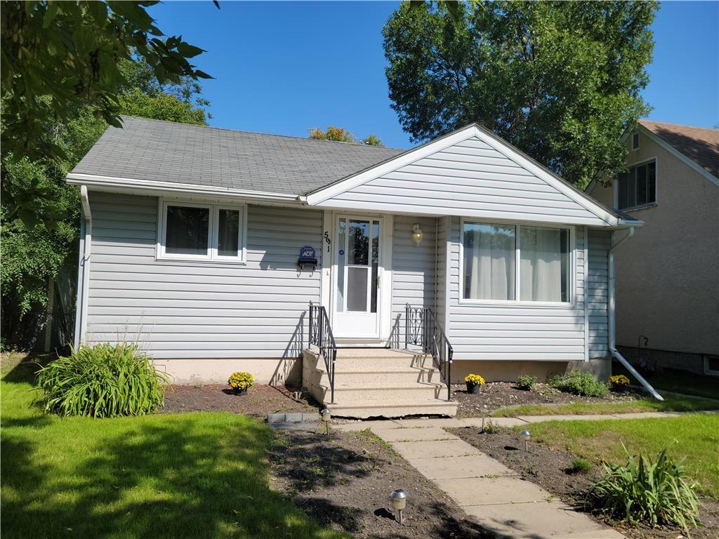 Main Photo: 591 Guilbault Street in Winnipeg: Residential for sale (2B)  : MLS®# 202122065