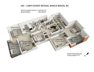 """Photo 1: 301 11667 HANEY Bypass in Maple Ridge: West Central Condo for sale in """"Haney's Landing"""" : MLS®# R2568174"""