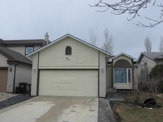 Main Photo: 67 Timberline Drive in WINNIPEG: East Kildonan Residential for sale (North East Winnipeg)  : MLS®# 1307954