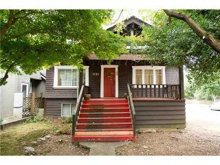 """Photo 1: 3696 W 2ND Avenue in Vancouver: Kitsilano House for sale in """"Kitsilano"""" (Vancouver West)  : MLS®# V1090176"""