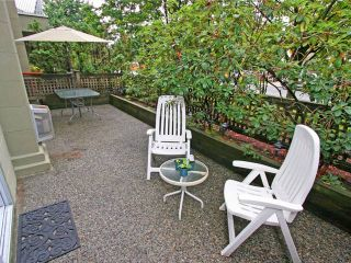 """Photo 10: 101 1990 COQUITLAM Avenue in Port Coquitlam: Glenwood PQ Condo for sale in """"THE RICHFIELD"""" : MLS®# V923528"""