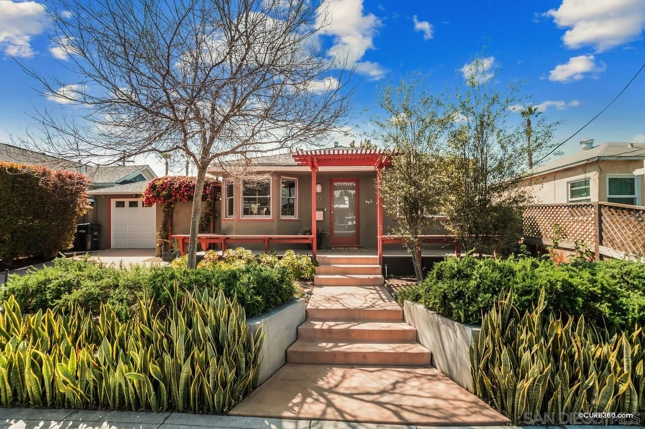 Main Photo: NORMAL HEIGHTS House for sale : 2 bedrooms : 3107 Collier AVe in San Diego
