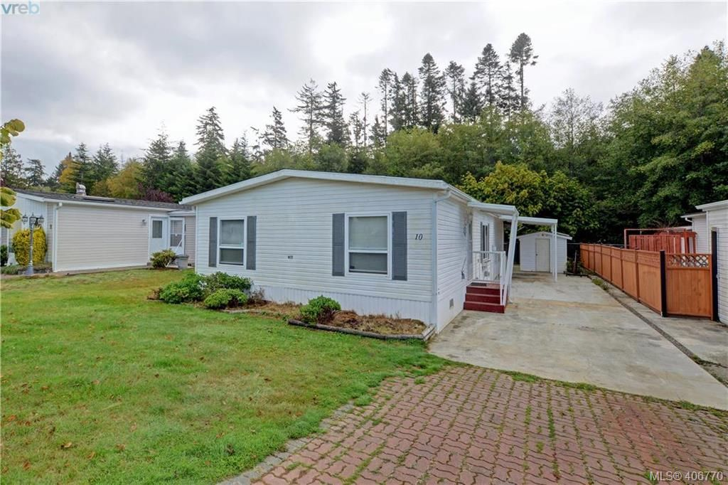 Main Photo: 10 7109 West Coast Rd in SOOKE: Sk John Muir Manufactured Home for sale (Sooke)  : MLS®# 808287