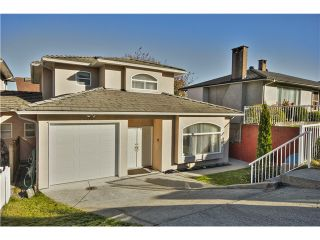 """Photo 1: 3707 CARDIFF Street in Burnaby: Central Park BS 1/2 Duplex for sale in """"BURNABY"""" (Burnaby South)  : MLS®# V1044542"""
