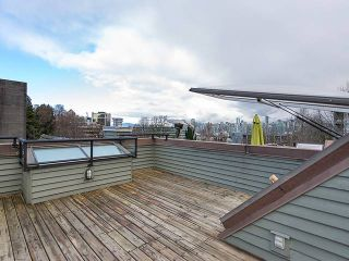 """Photo 18: PH4 380 W 10TH Avenue in Vancouver: Mount Pleasant VW Townhouse for sale in """"Turnbull's Watch"""" (Vancouver West)  : MLS®# V1053163"""