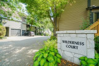 """Photo 36: 8574 WILDERNESS Court in Burnaby: Forest Hills BN Townhouse for sale in """"Simon Fraser Village"""" (Burnaby North)  : MLS®# R2614929"""