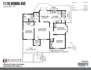 Photo 39: 1116 Donna Ave in : La Langford Lake House for sale (Langford)  : MLS®# 884566