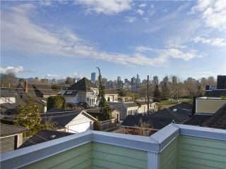 Photo 12: 1839 CREELMAN Avenue in Vancouver: Kitsilano 1/2 Duplex for sale (Vancouver West)  : MLS®# V1047236