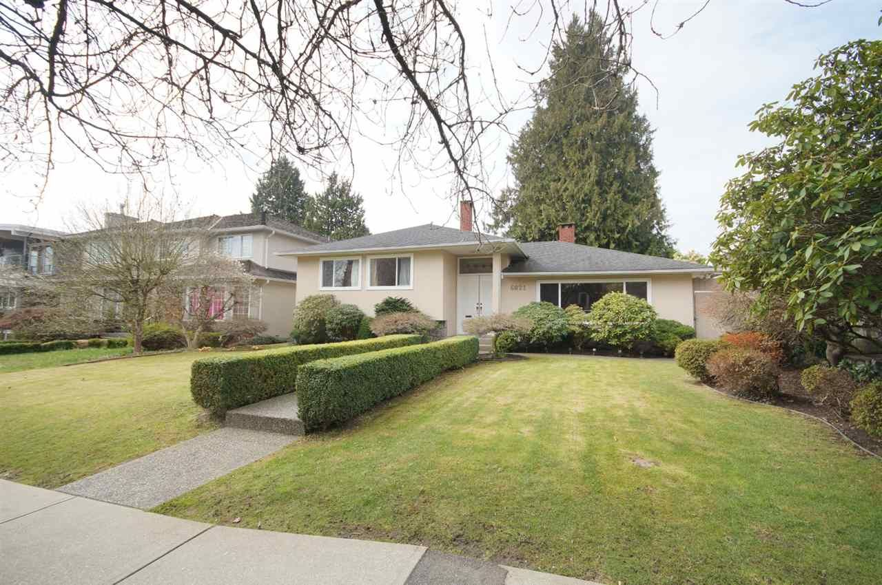 Main Photo: 6821 HEATHER STREET in Vancouver: South Cambie House for sale (Vancouver West)  : MLS®# R2556463