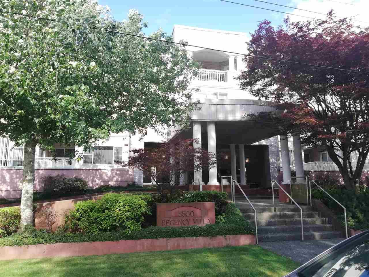 """Main Photo: 101 5500 ARCADIA Road in Richmond: Brighouse Condo for sale in """"REGENCY VILLA"""" : MLS®# R2377921"""