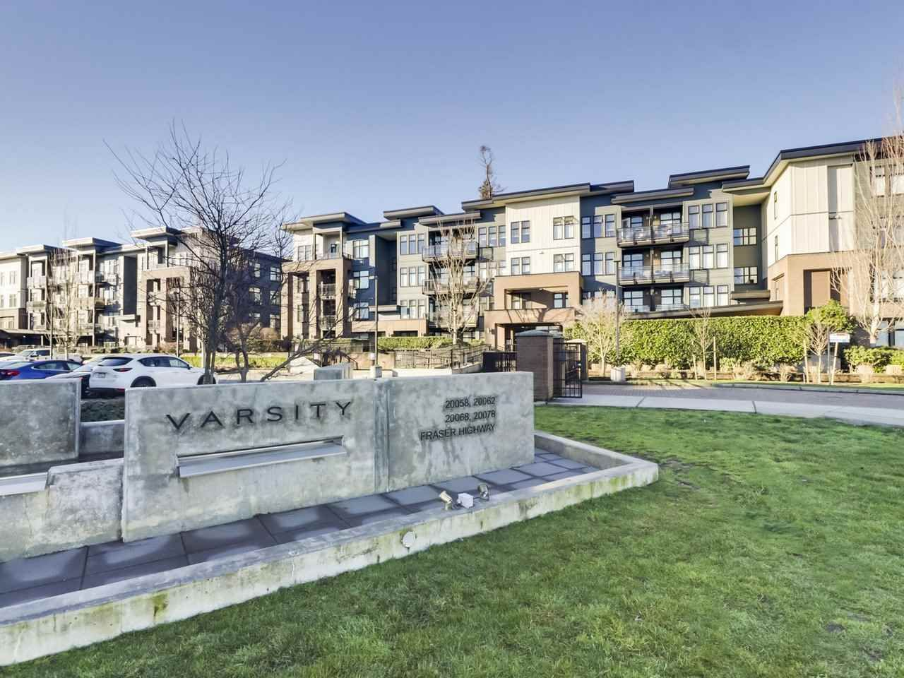 """Main Photo: 109 20068 FRASER Highway in Langley: Langley City Condo for sale in """"Varsity"""" : MLS®# R2574684"""
