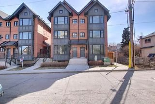 Photo 2: 202 1818 14A Street SW in Calgary: Bankview Row/Townhouse for sale : MLS®# A1100804