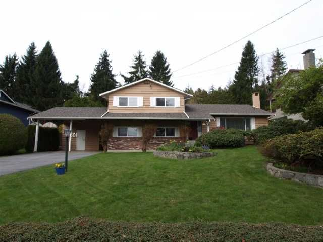 Main Photo: 801 FAIRWAY Drive in North Vancouver: Dollarton House for sale : MLS®# V817318