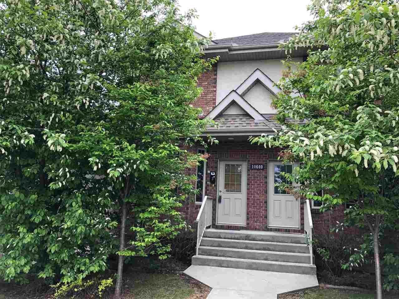 Main Photo: 3 10640 81 Avenue in Edmonton: Zone 15 Townhouse for sale : MLS®# E4239875