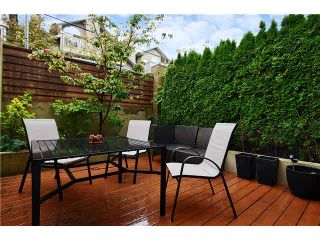 Photo 14: 3015 LAUREL Street in Vancouver: Fairview VW Townhouse for sale (Vancouver West)  : MLS®# V1089768