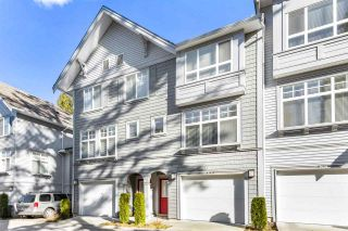 "Photo 1: 82 5858 142 Street in Surrey: Sullivan Station Townhouse for sale in ""Brooklyn Village"" : MLS®# R2543477"